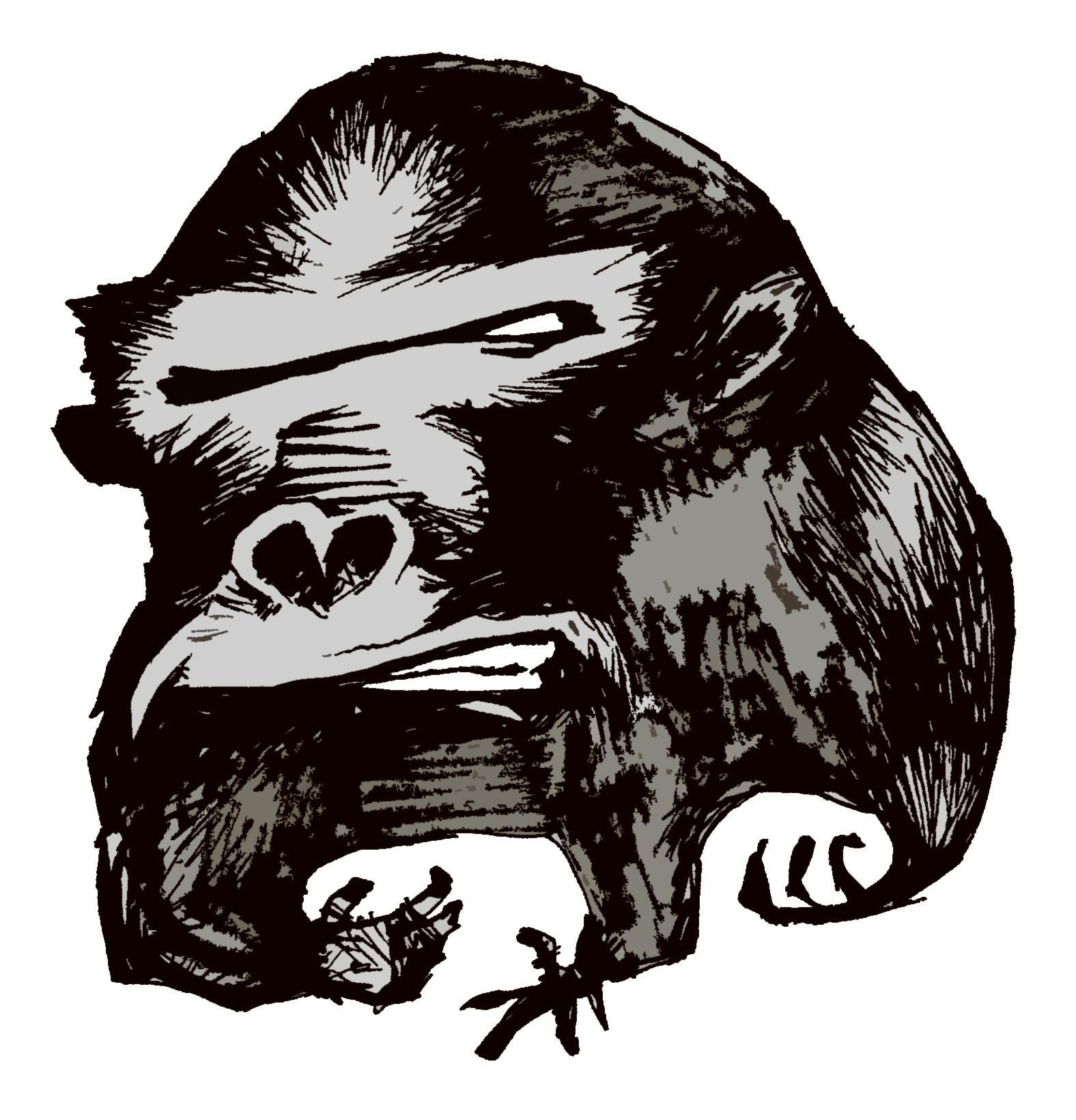 Håkan Eklund interpretes Biohazard Gorillas